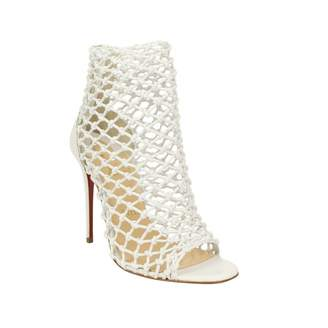 Christian Louboutin \N White Leather Ankle boots
