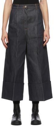 Loewe Navy Culotte Jeans