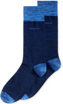HUGO BOSS Men's Heathered Dress Socks