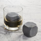Crate & Barrel Whiskey Rocks Large, Set of 2