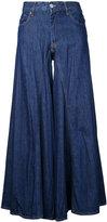 MM6 MAISON MARGIELA wide-legged jeans - women - Cotton - 36