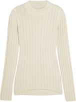 MM6 MAISON MARGIELA Ribbed wool-blend sweater