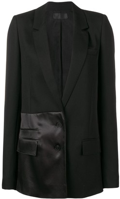 Haider Ackermann Long Panelled Blazer
