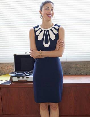 Cleonie Ponte Shift Dress