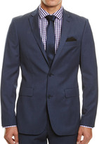 SABA Collins Suit Jacket In Smoke Blue