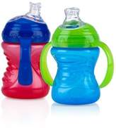 Nuby 2 Count 2 Handle Cup with No Spill Super Spout