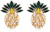 Anton Heunis Pandora's Box Pineapple Earrings