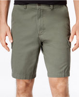Geoffrey Beene Men's Big and Tall Washed Twill Cargo Shorts