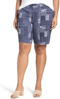 Sejour Plus Size Women's Bermuda Shorts