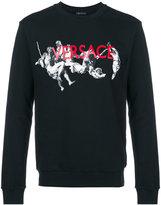 Versace printed sweatshirt - men - Cotton/Spandex/Elastane - M