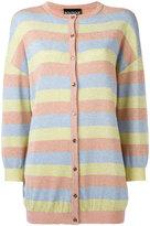 Moschino striped cardigan