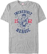 Fifth Sun Men's Tee Shirts ATH - The Incredible Hulk Athletic Heather 'Incredibly Heroic' tee - Men