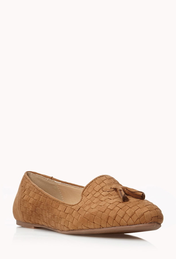 Forever 21 Borrowed-From-the-Boys Tassel Loafers
