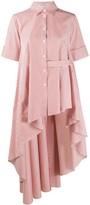 Palmer Harding Palmer / Harding asymmetric maxi shirt dress