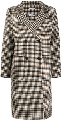 P.A.R.O.S.H. Double Breasted Checked Coat