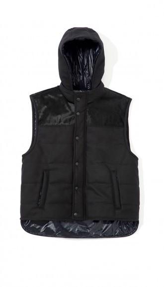 Tibi Felted Wool Pony Vest