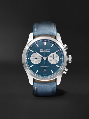 Bremont Zurich Automatic Chronograph 42mm DLC-Coated Stainless Steel and Kevlar Watch, Ref. No. CH_MO_034_06_L - Men - Blue