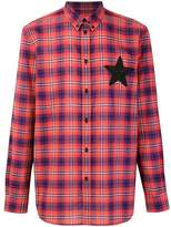 Givenchy Men's Red Cotton Shirt.