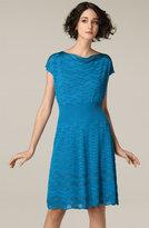 Chevron Texture Knit Dress