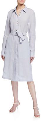 Lafayette 148 New York Michlle Illustrious Linen Duster Dress