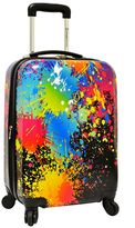 Traveler's Choice Travelers choice Travelerâ€TMs Choice Paint Splatter 29-Inch Hardside Spinner Luggage
