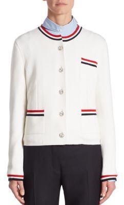 Thom Browne Knit Wool Jacket