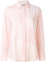 Paul & Joe patchwork shirt