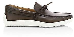 Tod's Men's Leather Boat Shoes