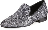 Donald J Pliner Lyle Glitter Smoking Slipper