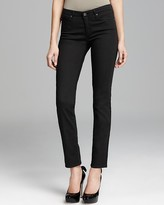 AG Jeans The Prima Cigarette Cozy Twill in Black