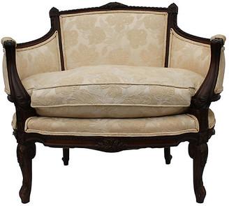 One Kings Lane Vintage Louis XVI-Style Bergere - Something Vintage