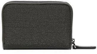 Brunello Cucinelli Studded Zip Wallet