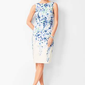 Talbots Pastel Floral Sheath Dress