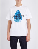 Diamond Supply Co. Teardrop Cotton-jersey T-shirt