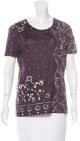 Burberry Bandana Print Short Sleeve T-Shirt