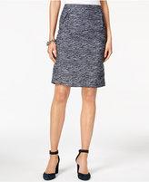 Tommy Hilfiger Tweed Straight Skirt