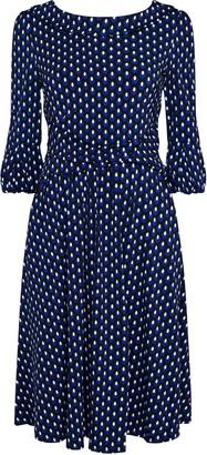 Wallis **Jolie Moi Polka Dot Print Bell Sleeve Dress