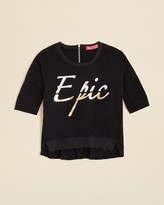 Menu Girls' Epic Tee - Sizes XS-XL