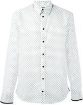 Alexander McQueen mini skull print shirt - men - Cotton - 16 1/2