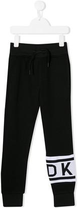 DKNY Ankle Print Track Pants