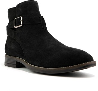 Crevo Douglas Buckled Suede Boot