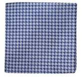 The Tie Bar Houndstooth Silk Blend Pocket Square