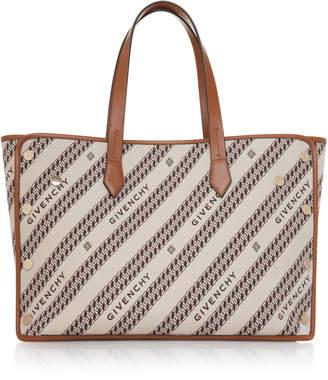 Givenchy Bond Medium Logo-Jacquard Canvas Shopper Tote