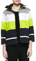 Caroline Rose CLSSC LIMELIGHT STRIPE JKT
