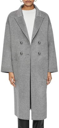 Anine Bing Dylan Wool Blend Coat