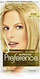 L'Oreal Superior Preference Fade-Defying Color + Shine System, 9 Natural Blonde(Packaging May Vary)