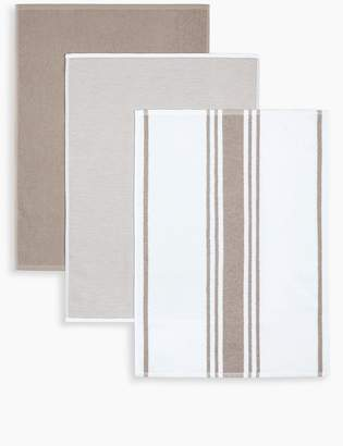 Marks and Spencer 3 Pack Assorted Hand Towels