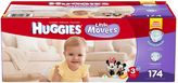 Huggies Little Movers Size 3 174-Count Disposable Diapers