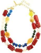 Oscar de la Renta Semi-Precious Beaded Necklace