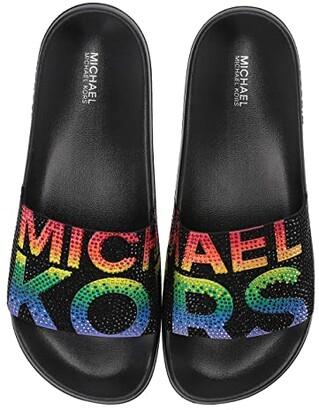 MICHAEL Michael Kors Gilmore Slide (Black Multi) Women's Slide Shoes